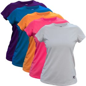 WOMEN'S FRANK SHORTER SOLID SHORT SLEEVE TEE