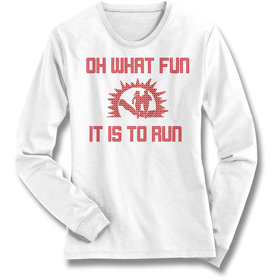 WOMENS FRANK SHORTER OH WHAT FUN TECH LONGSLEEVE