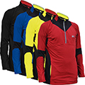 MEN'S FRANK SHORTER MIDWEIGHT THERMAL 1/2 ZIP TOP