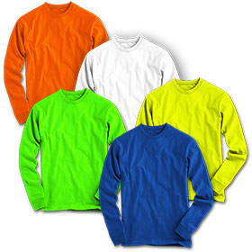 MEN'S FRANK SHORTER MARATHON CREW  LONG SLEEVE