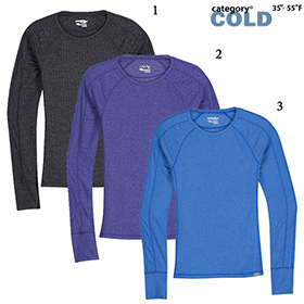 WOMEN'S SAUCONY BRISK LONG SLEEVE