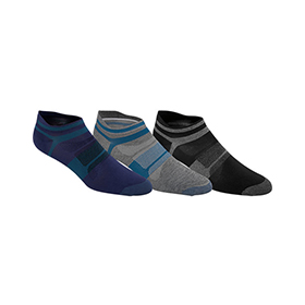 MEN'S ASICS QUICK LYTE SINGLE TAB 3-PACK SOCK