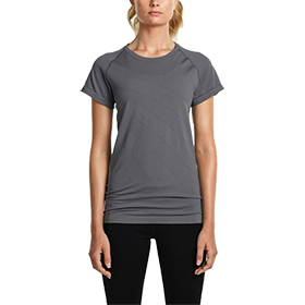 WOMEN'S SAUCONY DASH SEAMLESS SHORT SLEEVE