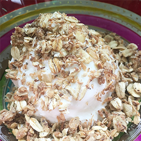 Salted Vanilla Maple Almond Butter Granola