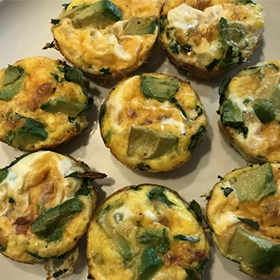 Muffin Cup Omlettes