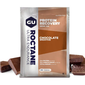 GU RECOVERY BREW PACKETS CHOCOLATE SMOOTHIE