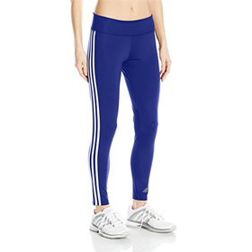 ADIDAS D2M 3 STRIPE LONG TIGHTS WOMEN'S