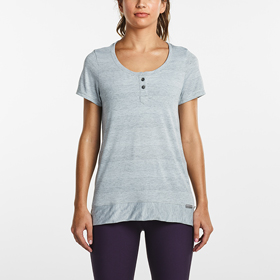 SAUCONY LIGHTHEARTED SHORT SLEEVE WOMEN'S