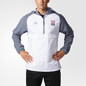 ADIDAS USA ANORAK MEN'S