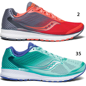 WOMEN'S SAUCONY BREAKTHRU 4