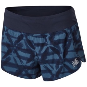 "NEW BALANCE PRINTED IMPACT 3"" RUN SHORT WOMEN'S"
