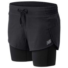 NEW BALANCE IMPACT 2 IN 1 SHORT WOMEN'S