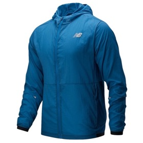 NEW BALANCE IMPACT RUN PACKABLE JACKET MEN'S
