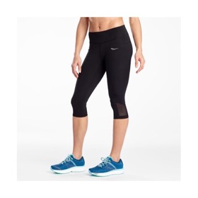 SAUCONY WOMEN'S FORTIFY CAPRI TIGHT